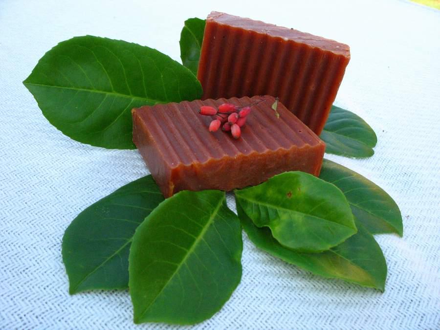 Gyümölcsös rooibos, afrikai vöröstea szappan