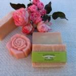 Rózsa gyógynövényes szappan