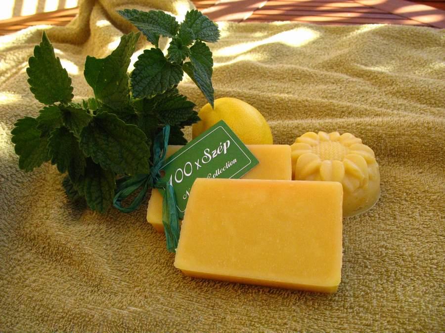 Citromfű gyógynövényes szappan